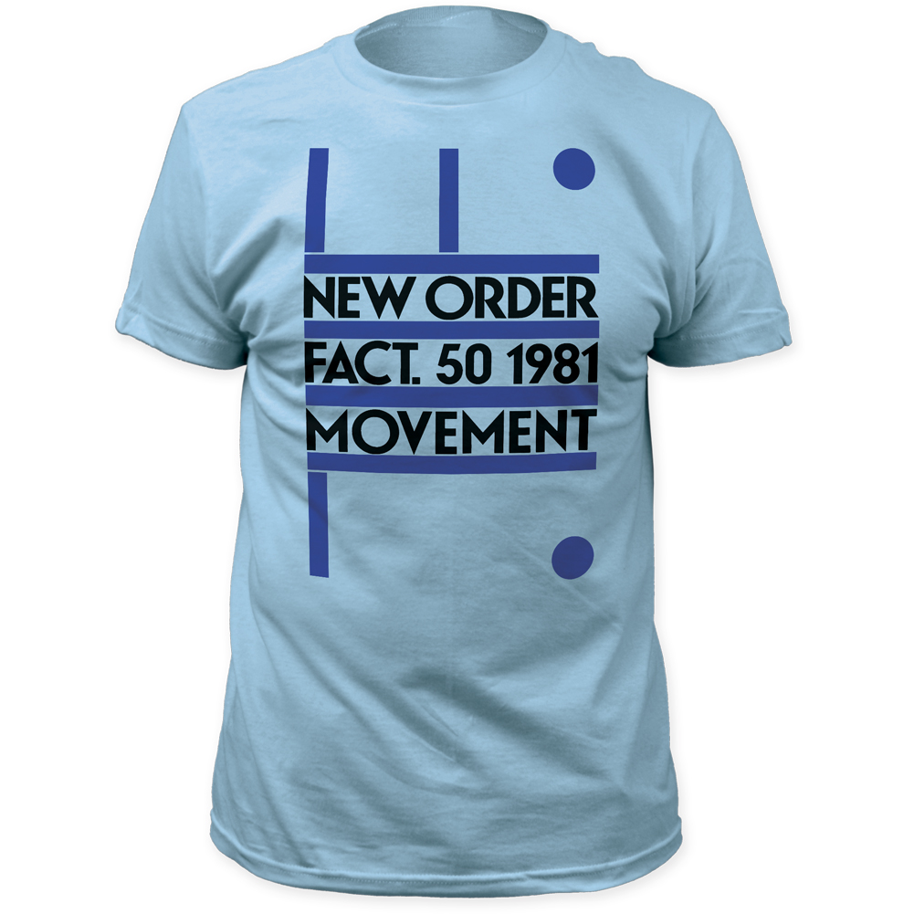 Wholesale new order fact 50 1981 movement fitted jersey t for Order bulk t shirts