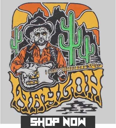 Wholesale Waylon Jennings Band Merchandise